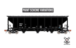 Scale Trains 30351 HO, Thrall 4727cf Carbon Black Covered Hopper, Rivet Counter, SRCX, 3108