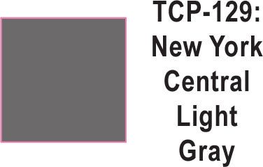 Tru Color TCP-129 New York Central Light Gray Paint 1 ounce
