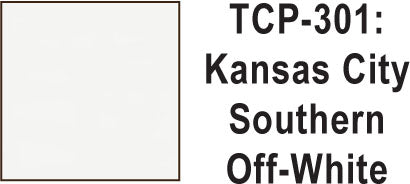 Tru Color TCP-301 Kansas City Southern Off-White 1 ounce