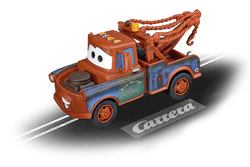 Carrera 61183 Go!!!, 1:43 Electric Slot Car, Mater