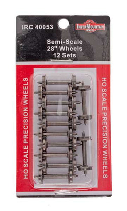 "Intermountain 40053 HO Semi Scale 28"" Wheels"