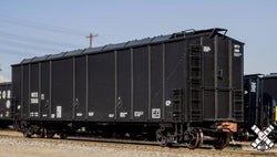Thrall 5750cf Carbon Black Covered Hopper 580718 CABX Scale Trains 30262 HO