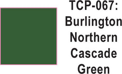 Tru Color TCP-67 Burlington Northern Cascade Green 1 ounce