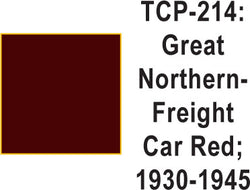 Tru-Color TCP-214 Great Northern 1930-45 Freight Car Red