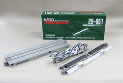 Kato 20-651 Unitrack N Automatic Crossing Gate Double Track Adapter