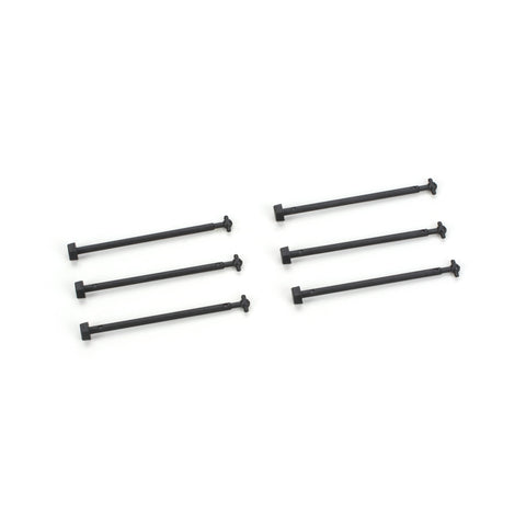 Athearn 90121 HO, Dogbone, Drive Shaft, 1.76 inch, SD60M, FP45, -9, 6 Pieces