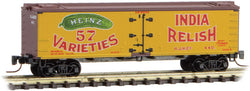 Micro Trains 518 00 650 Z 40' Wood Reefer, Heinz Yellow Series Car 3, HJHCo, 440