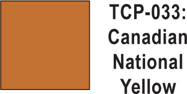 Tru Color TCP-33 Canadian National Yellow Paint 1 ounce
