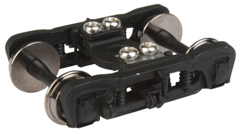 Walthers 2122 HO, GSC Commuter Trucks, Black, (1 Pair)