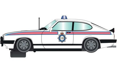 ScaleXtric 4153T, 1:32, Electric Slot Car, Ford Capri MKIII, Greater Manchester Police, DPR