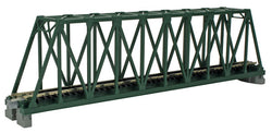 "Kato 20-431 N, Single Truss Bridge, 9 3/4"", (248mm), Green, 1pc"