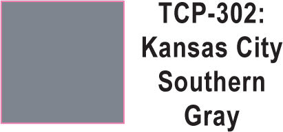 Tru Color TCP-302 Kansas City Southern Gray 1 ounce