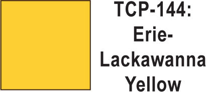 Tru Color TCP-144 Erie Lackawana Yellow, Paint (1 Ounce)