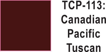 Tru Color TCP-113 Canadian Pacific Tuscan Paint 1 ounce