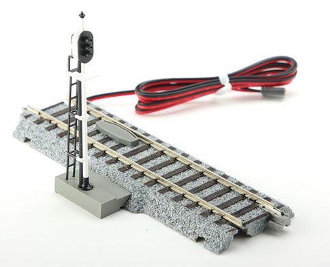 Kato 2-601 HO Unitrack 3-Color Automatic Signal, DCC