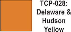 Tru Color TCP-28 Delaware and Hudson Yellow Paint 1 ounce
