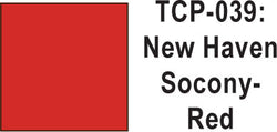 Tru Color TCP-39 New Haven Socony Red Paint 1 ounce