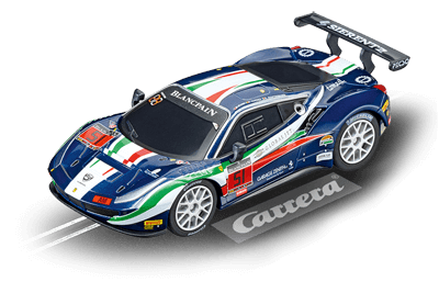 Carrera 64115 Go!!!, 1:43 Electric Slot Car, Ferrari 488 GT3, AF Corse, No. 51