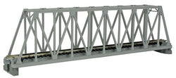 "Kato 20-432 N, Single Truss Bridge, 9 3/4"", (248mm), Grey, 1pc"