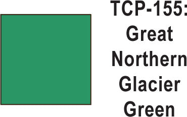 Tru Color TCP-155 Green Northern Glacier Green Paint 1 ounce