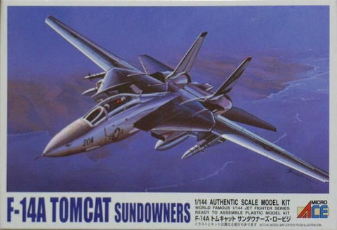 "ARII Plastic Model Kit #24 1:144 Scale F-14A Tomcat ""Sundowners"""