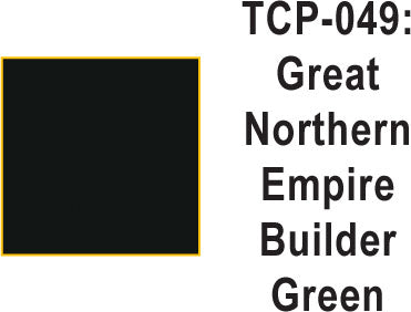 Tru Color TCP-49 Great Northern Empire Builder Green 1 ounce