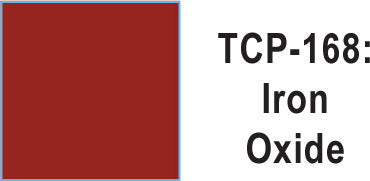 Tru Color TCP-168 Iron Oxide Paint 1 ounce