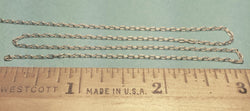 "A-Line 29224 Silver Chain, 15 Links Per Inch (12"")"