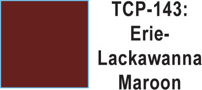 Tru Color TCP-143 Erie Lackawana Maroon, Paint (1 Ounce)