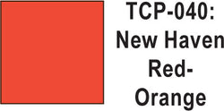 Tru Color TCP-40 New Haven Red/Orange Paint 1 ounce