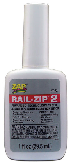 Robart PT-23 Rail Zip 2 Track Cleaner, 1 oz