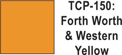 Tru Color TCP-150 Fort Worth and Western Yellow 1 ounce