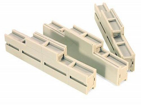 Micro Trains 499 43 934 N scale 40' Concrete Beam Load 3/package