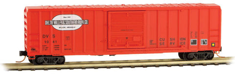 Micro-Trains Line 025 00 900 N 50' Rib Side Box Car, Delta Valley and Southern, #1041