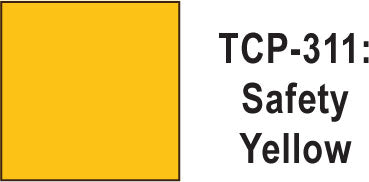 Tru Color TCP-311 Safety Yellow Paint 1 ounce