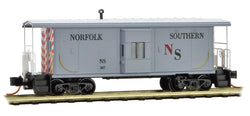 Micro-Trains Line 130 00 240 N, 31' Bay Window Caboose, NS, 387