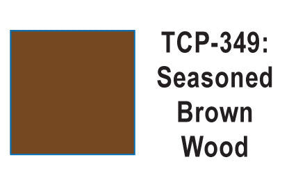 Tru Color TCP-349 Seasoned Wood, Brown, Paint 1 ounce