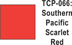 Tru-Color TCP-66 SP Scarlet Red Paint 1 ounce