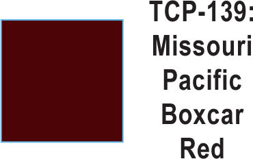 Tru Color TCP-139 Missouri Pacific Boxcar Red, Paint (1 Ounce)