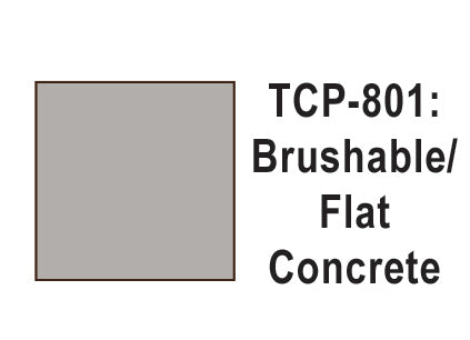 Tru-Color TCP-801 Flat Concrete Paint 1 Fluid Ounce