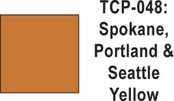 Tru Color TCP-48 Spokane, Portland and Seattle Yellow Paint 1 ounce