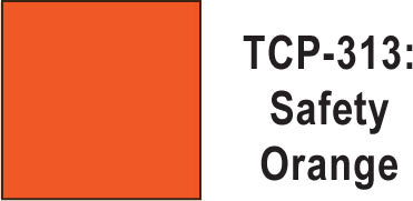 Tru Color TCP-313 Safety Orange Paint 1 ounce