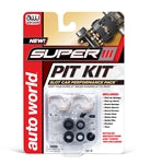 Auto World 301 HO Slot Car Super III Pit Kit, Performance Pack