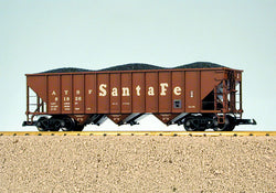 USA Trains R14002 G, 3-Bay Coal Car, Santa Fe, ATSF, 81837