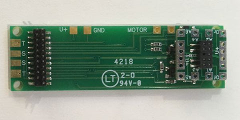 Nix Trainz, Decoder Buddy, V5, 21Pin Decoder Mother Board, 12 Function Output