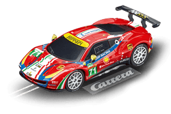 Carrera 64114 Go!!!, 1:43 Electric Slot Car, Ferrari 488 GTE, AF Corse, No. 71