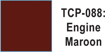 Tru Color TCP-88 Engine Maroon Paint 1 ounce