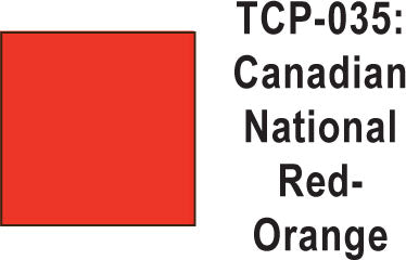 Tru Color TCP-35 Canadian National Red-Orange Paint 1 ounce