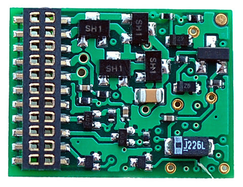 Train Control Systems 1344 EU621, DCC, 21-Pin Decoder, 6 Function