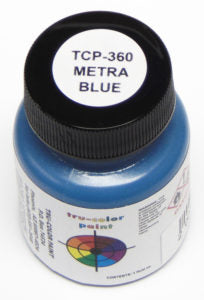 Tru Color TCP-360 Metra Blue, Paint 1 ounce